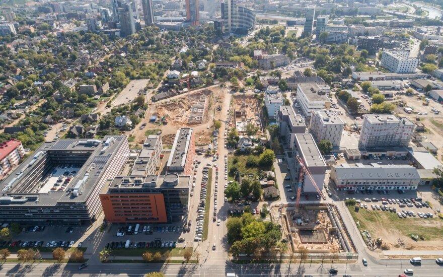 За год продажи квартир в Вильнюсе выросли на 39%