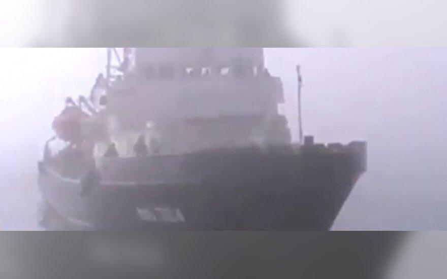 """Российские военные вновь пытаются штурмовать тральщик """"Черкассы"""""""