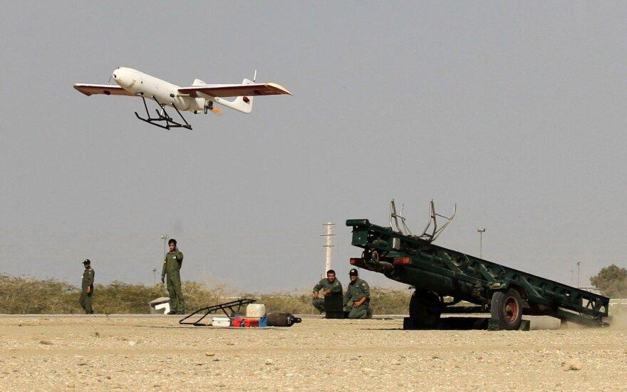 Корабль ВМС США уничтожил иранский беспилотник