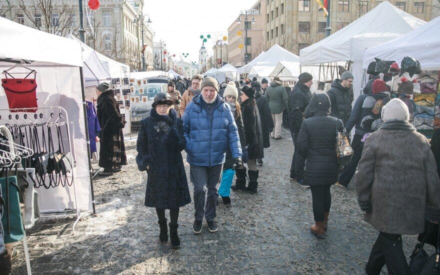 Ярмарка Казюкаса: стол столетия, концерты костер, пряники и чай