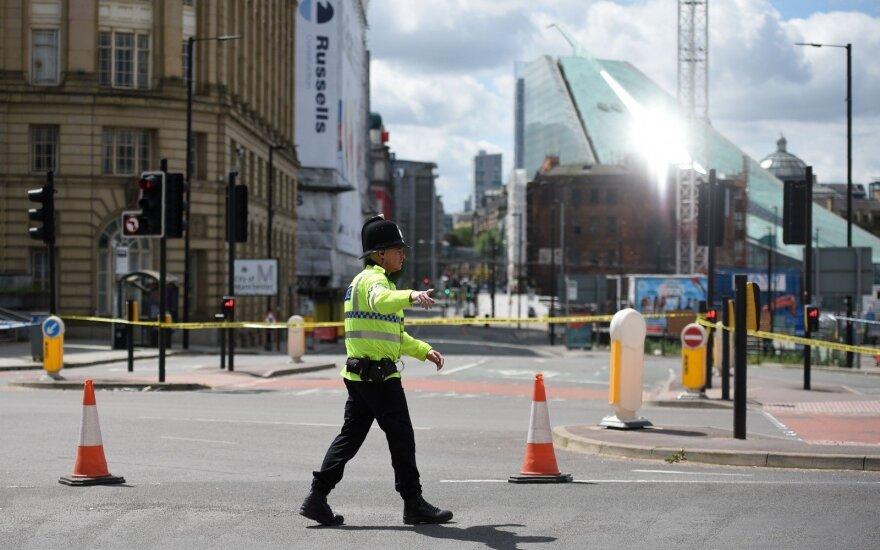Teroro aktas Mančesteryje