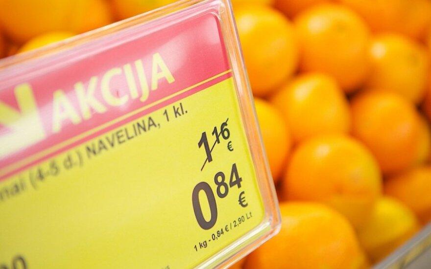 В августе в Литве – дефляция в 0,4%