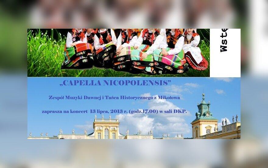 Koncert Letni w Domu Kultury Polskiej w Wilnie