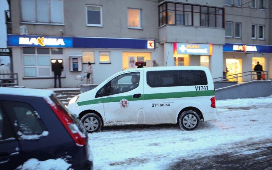В Вильнюсе покупателям Maxima пришлось срочно покинуть здание