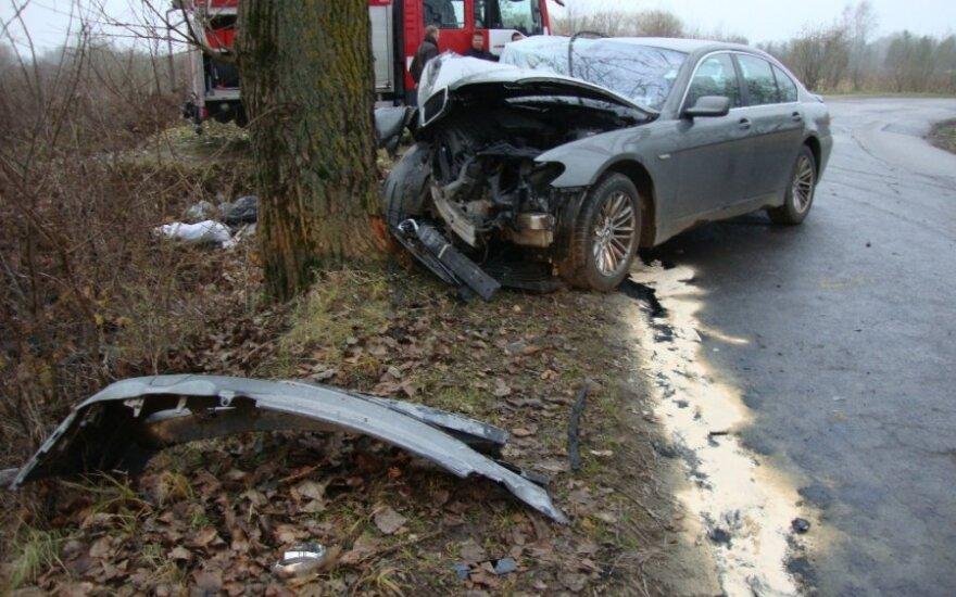Неделя на дорогах Литвы: 4 человекa погибли, 52 пострадали