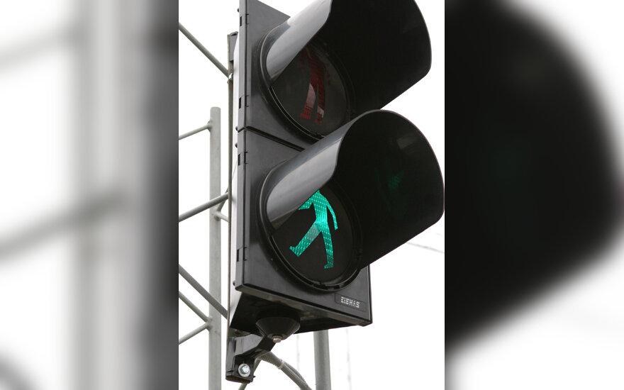 Žalias šviesoforo signalas