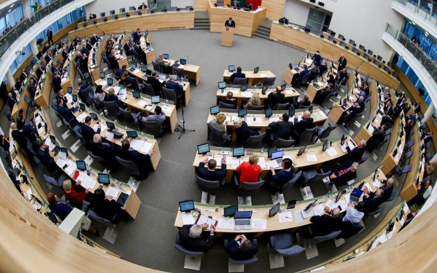 Четыре оппозиционные фракции Сейма Литвы выступают за досрочные выборы