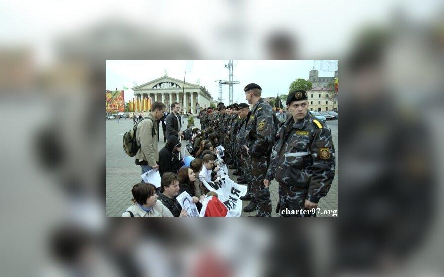 Участников акции памяти Ю.Захаренко арестовали
