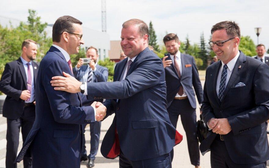 Премьеры Литвы и Польши рады, что идеи Качиньского о тесном сотрудничестве стран живы