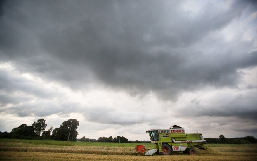 Harvesting in Lithuania