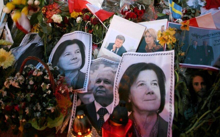 В Польше эксгумировали останки президента Леха Качиньского и его жены