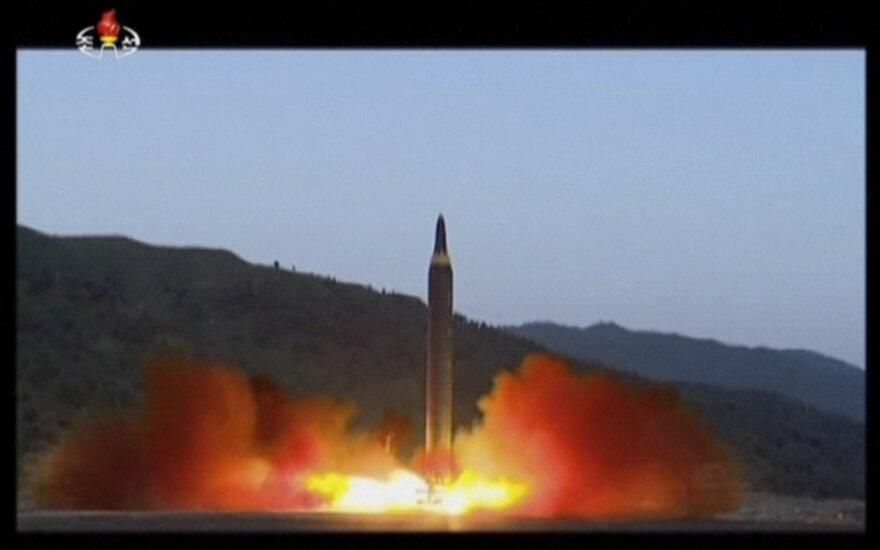 Северная Корея назвала запуск баллистической ракеты успешным