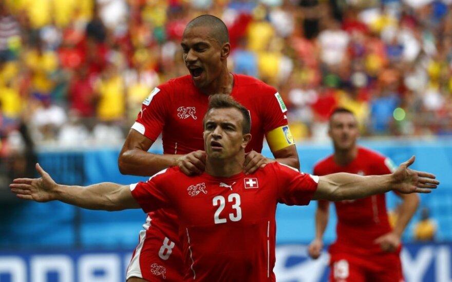 Хет-трик Шачири вывел Швейцарию в плей-офф вместе с Францией