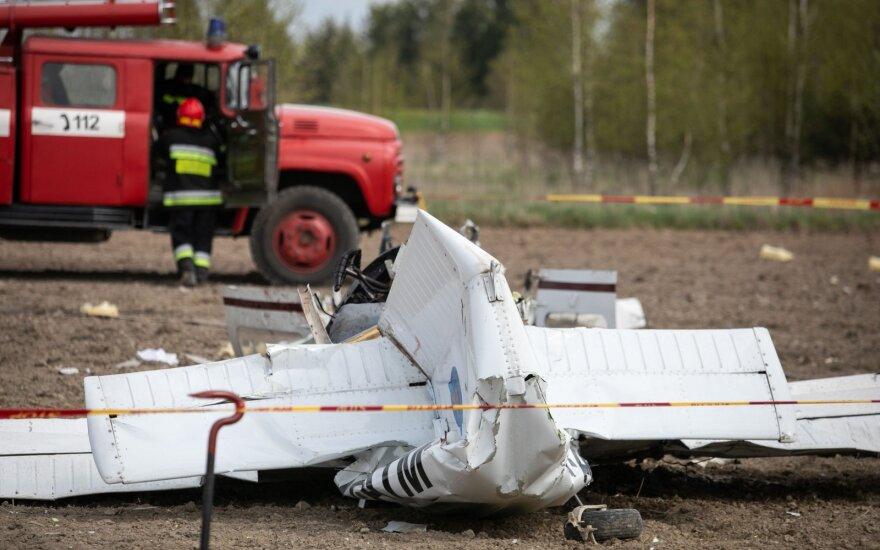 В Вильнюсском районе упал самолет, погибли двое мужчин