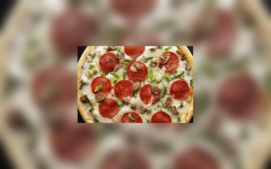 В Каунасе напали на разносчика пиццы