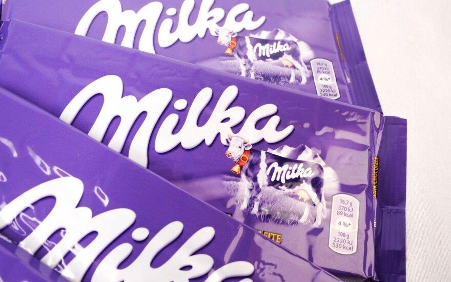 """""""Milka"""" šokoladas"""