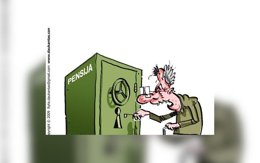 Сисас: некоторые бывшие судьи получают пенсии в размере 8000 литов