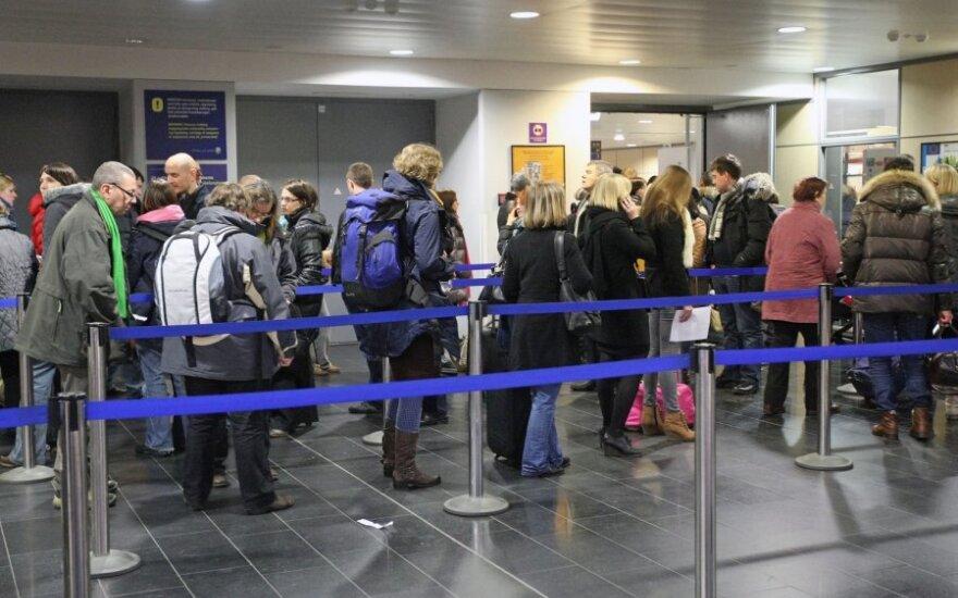 Новое ограничение для путешествующих литовцев