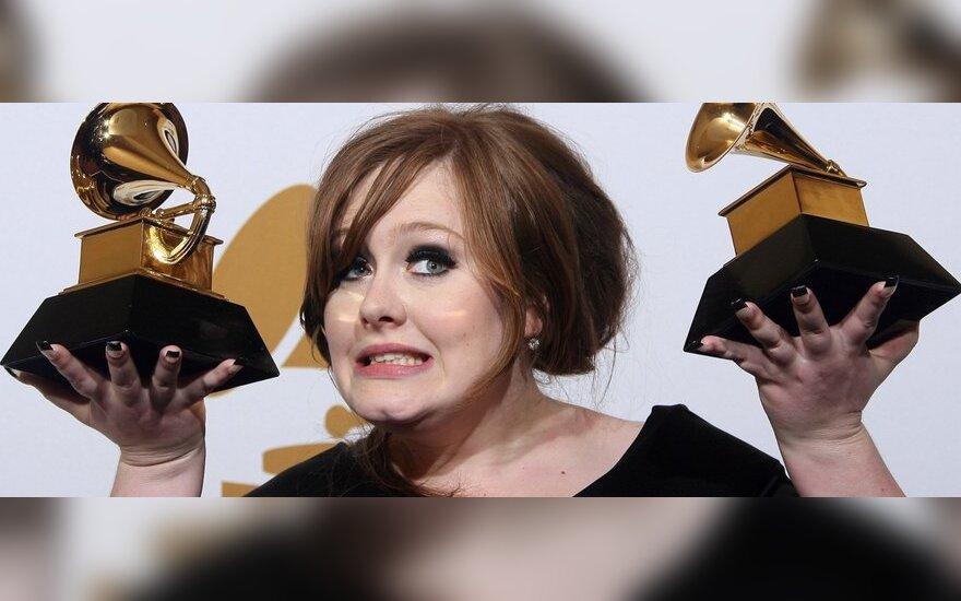 Альбом Адель стал самым продаваемым в США второй год подряд