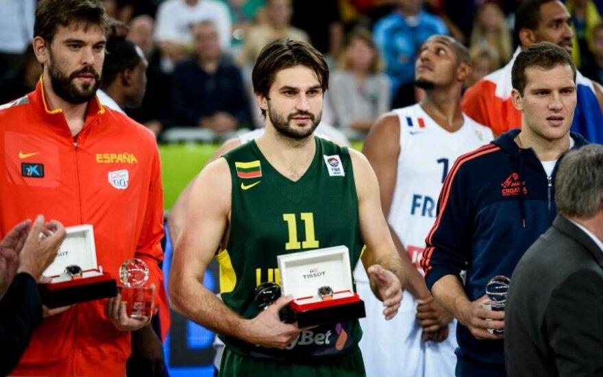 В литовской баскетбольной сборной не будет трех вице-чемпионов Европы