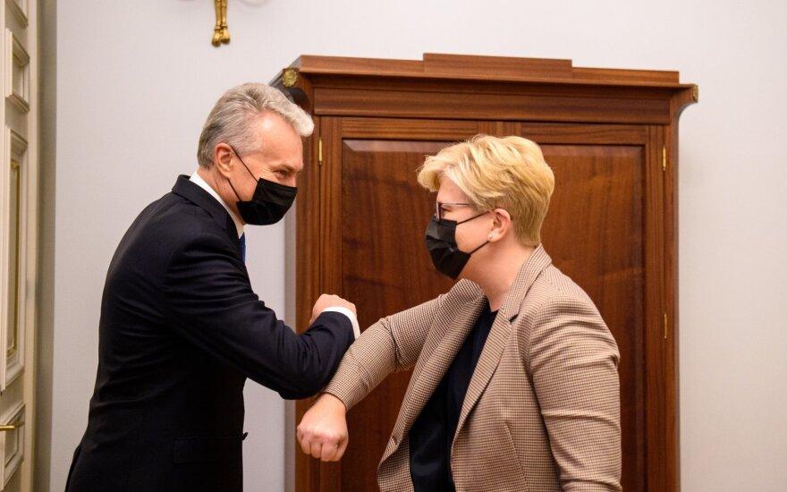 Президент Литвы назначил Шимоните премьер-министром