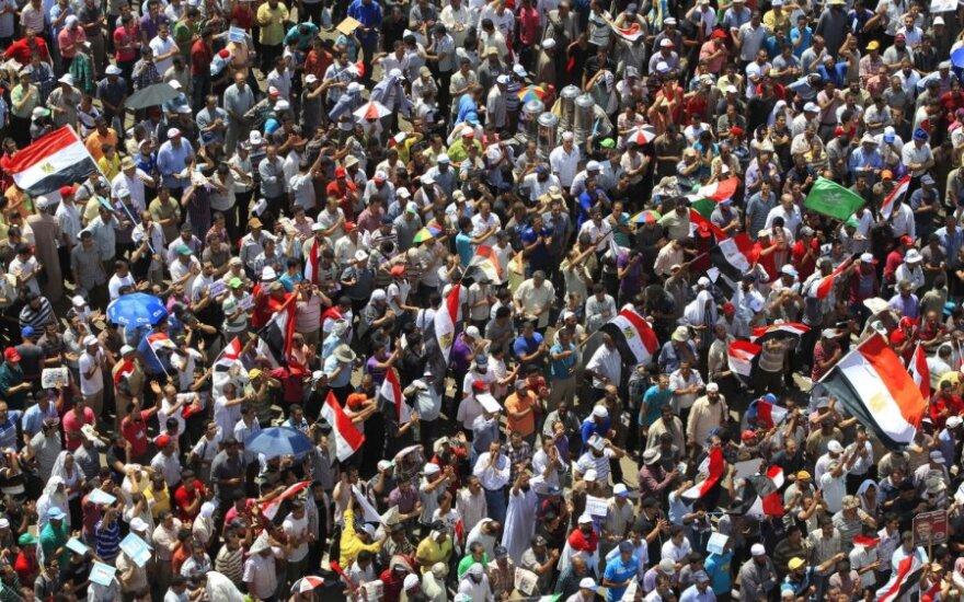 Musulmonų brolijos rėmėjai renkasi Tahriro aikštėje