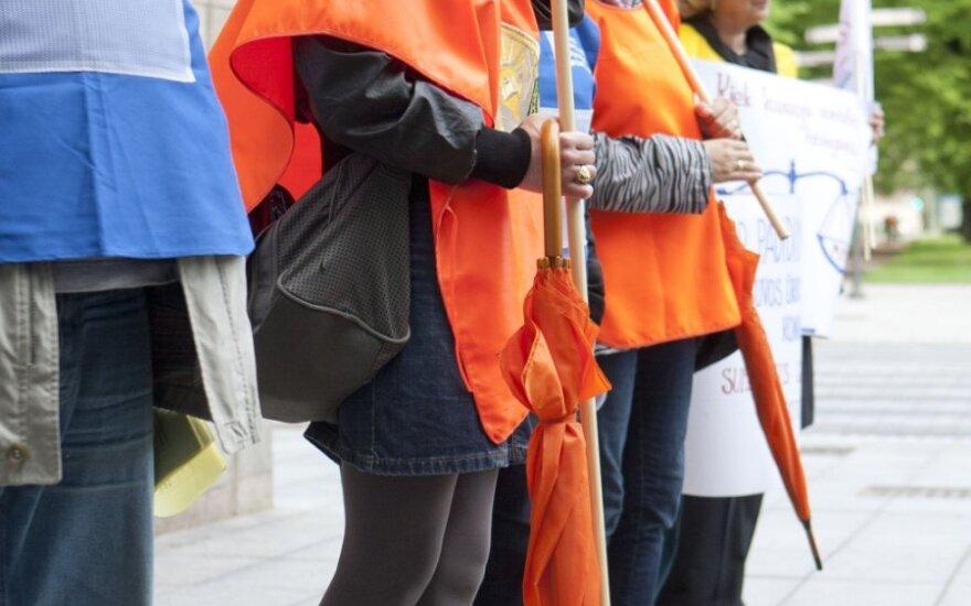 Protesty przeciwko liberalizacji Kodeksu Pracy