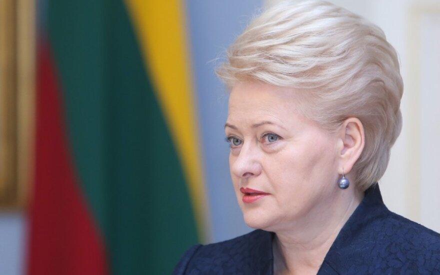 Президент Литвы поздравила с Днем восстановления независимости и по-русски