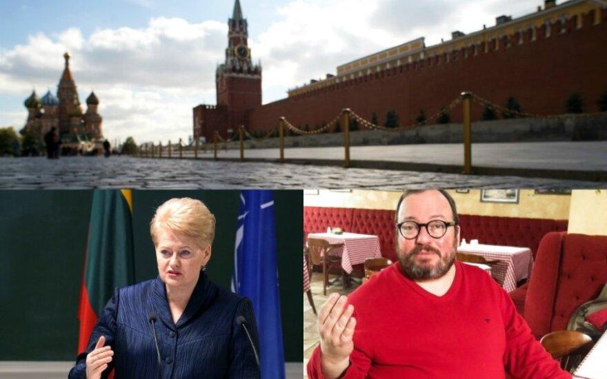 Белковский: полагаю себя русским патриотом, но с Грибаускайте согласен