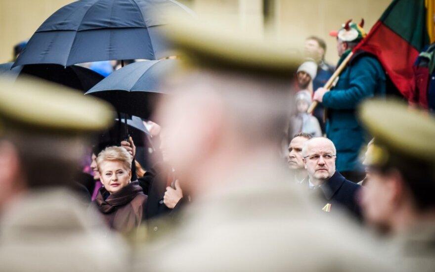 """Президент Литвы: Олекас войдет в историю как министр """"золотых ложек"""""""