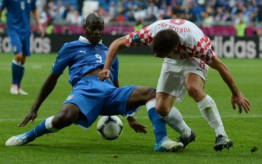 Италия не удержала победный счет в матче с Хорватией