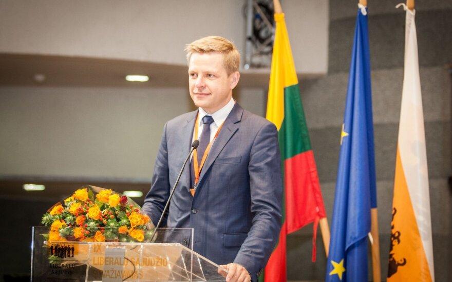 Новым председателем Движения либералов избран Шимашюс