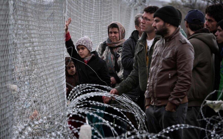 """Литовская разведка """"отсеяла"""" девять беженцев по мотивам безопасности"""