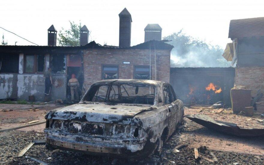 Украина: в Славянске сепаратисты обстреляли жилые районы