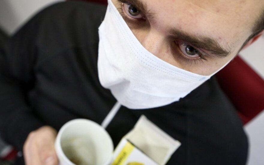 В трети муниципалитетов Литвы объявлена эпидемия гриппа