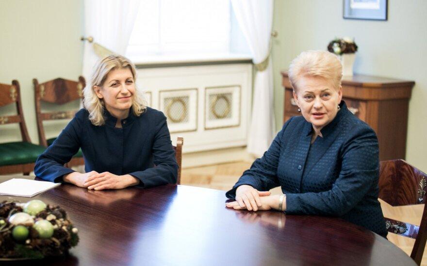Премьер Литвы: отложив увольнение министра культуры, президент становится ответственной за нее