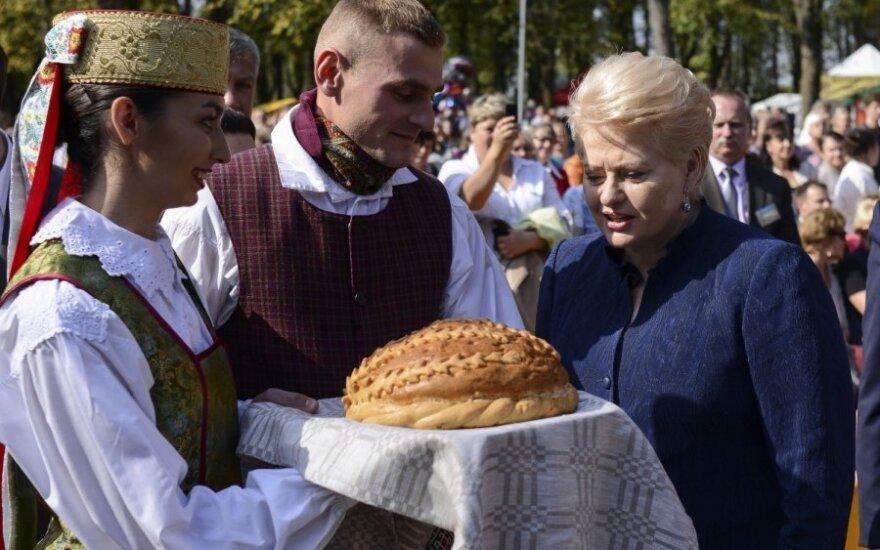Prezydent Litwy na Dożynkach w Solecznikach. Wideorelacja