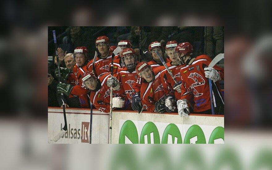 Energija продолжила серию побед на открытом Чемпионате по хоккею в Латвии