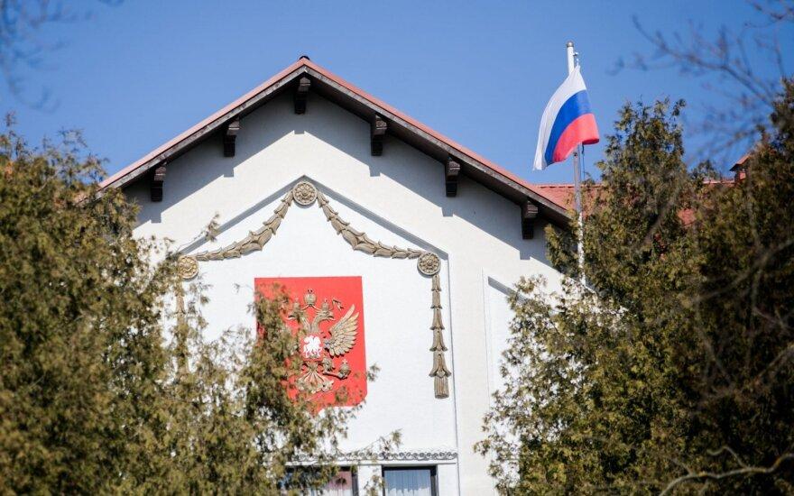 Посольство России в Литве отреагировало на отчет гоcбезопасности об угрозах