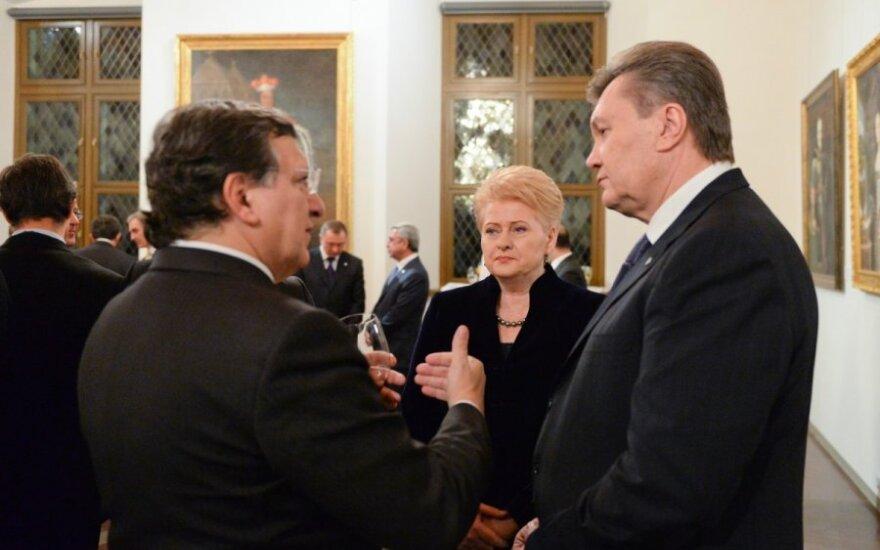 Jose Manuelis Barroso, Viktoras Janukovičius, Dalia Grybauskaitė