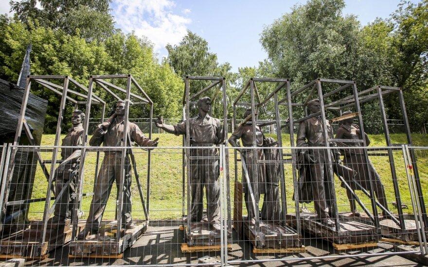 Rosja chce wykupić sowieckie rzeźby z Zielonego mostu