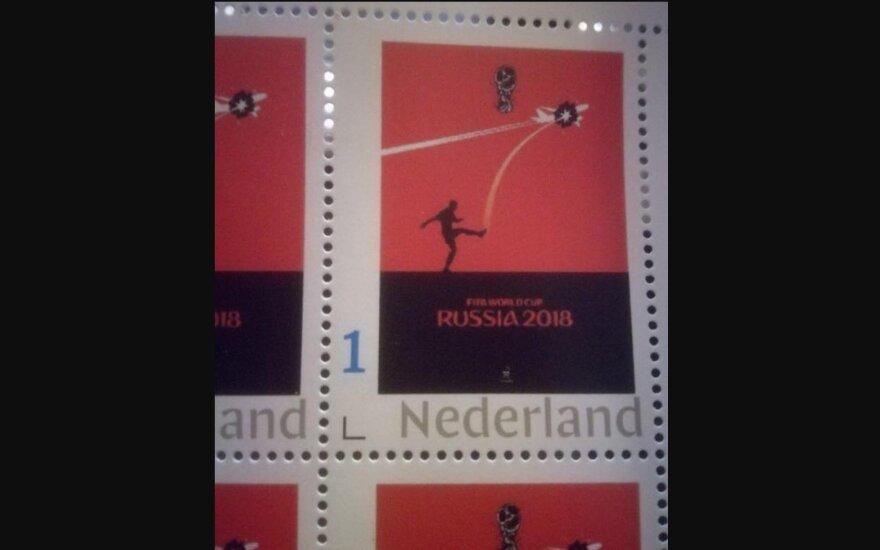 Nederland postmark 2018 Ermolenko