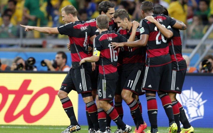 Reprezentacja Niemiec wygrywa mecze z pomocą nowoczesnych technologii