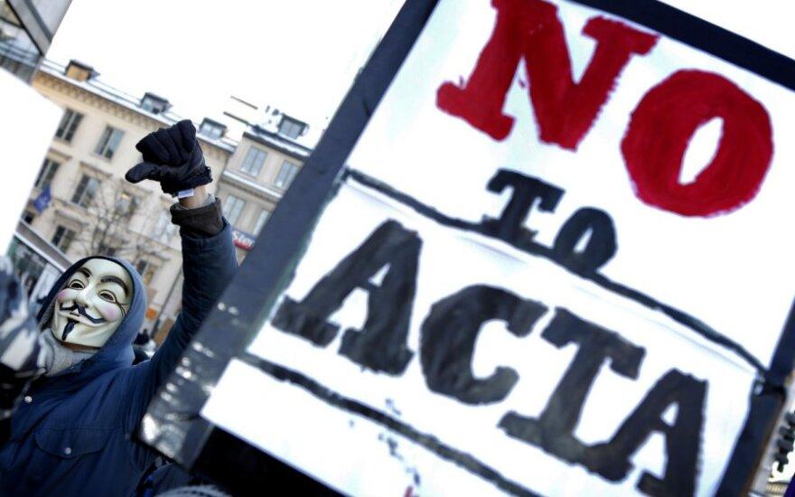 Protestas prieš ACTA sutartį