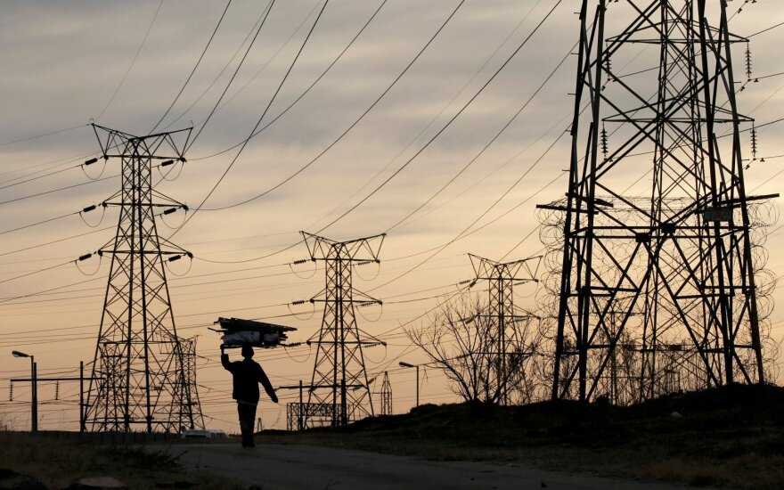 Смычки NordBalt и LitPol Link в прошлом году сбили цену на электроэнергию в Литве