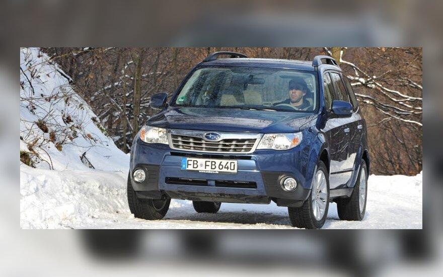 """Тест-драйв: японский """"лесничий"""" Subaru Forester"""