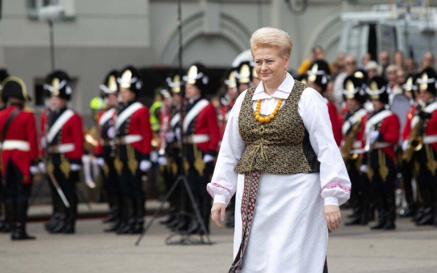 Президент Литвы обратилась к жителям: давайте гордиться нашим государством