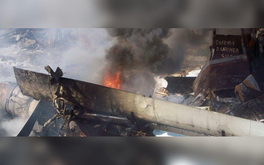Konge nukrito lėktuvas