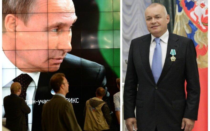 Грибаускайте предлагает сократить трансляцию российских программ