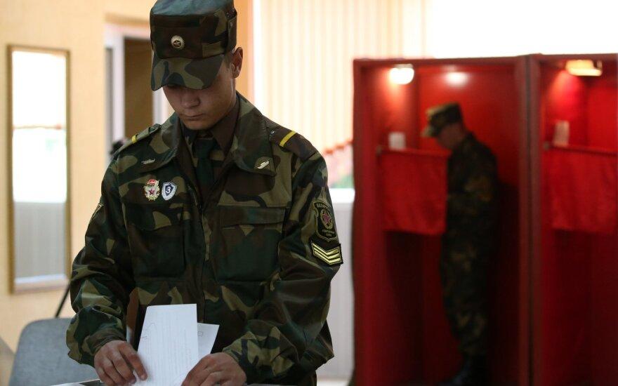 Baltarusijoje prasideda išankstinis balsavimas prezidento rinkimuose